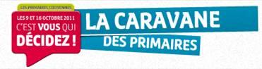 Caravane des Primaires citoyennes dans le Var bandocaravprim