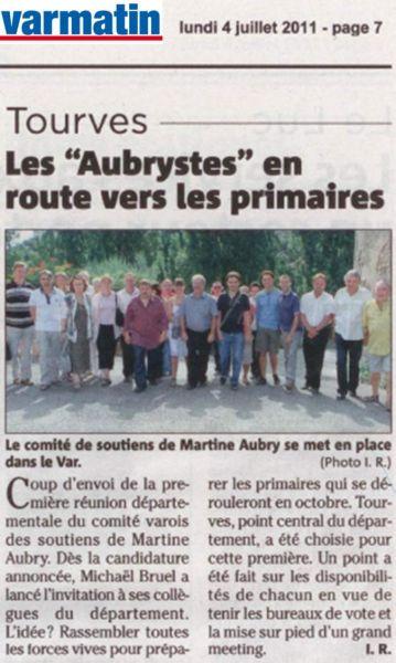 Un samedi 2 juillet à Tourves... ma20110704